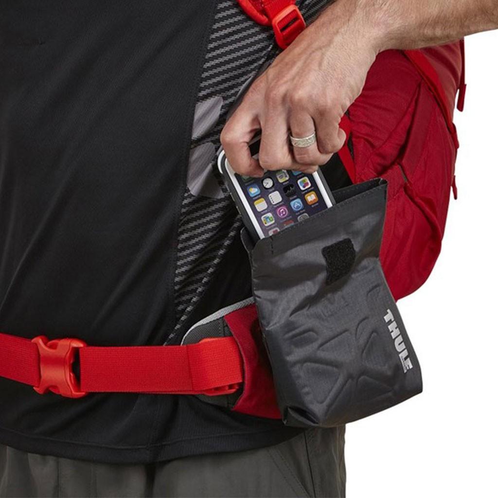 Versatile Click Rolltop Safezone Pocket - Gris