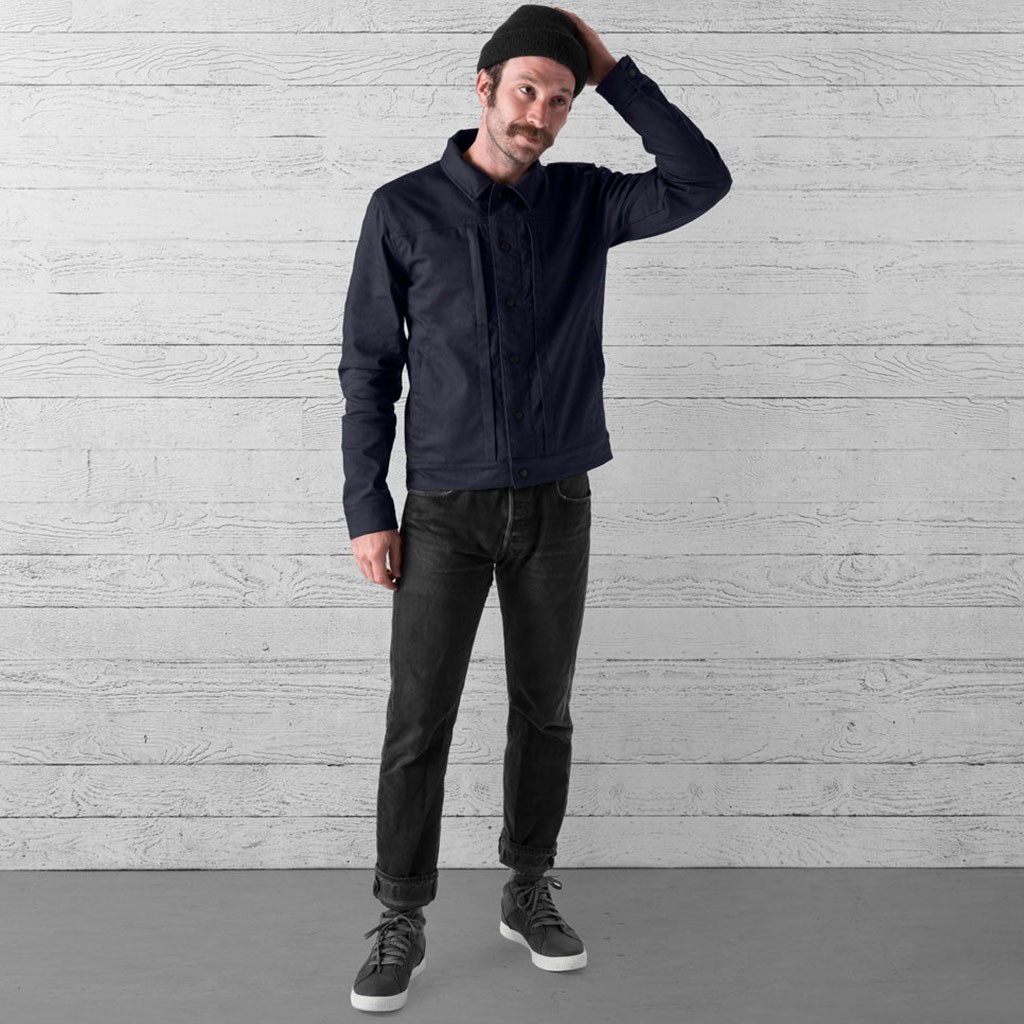 Blake Cycling Trucker Jacket - Midnight