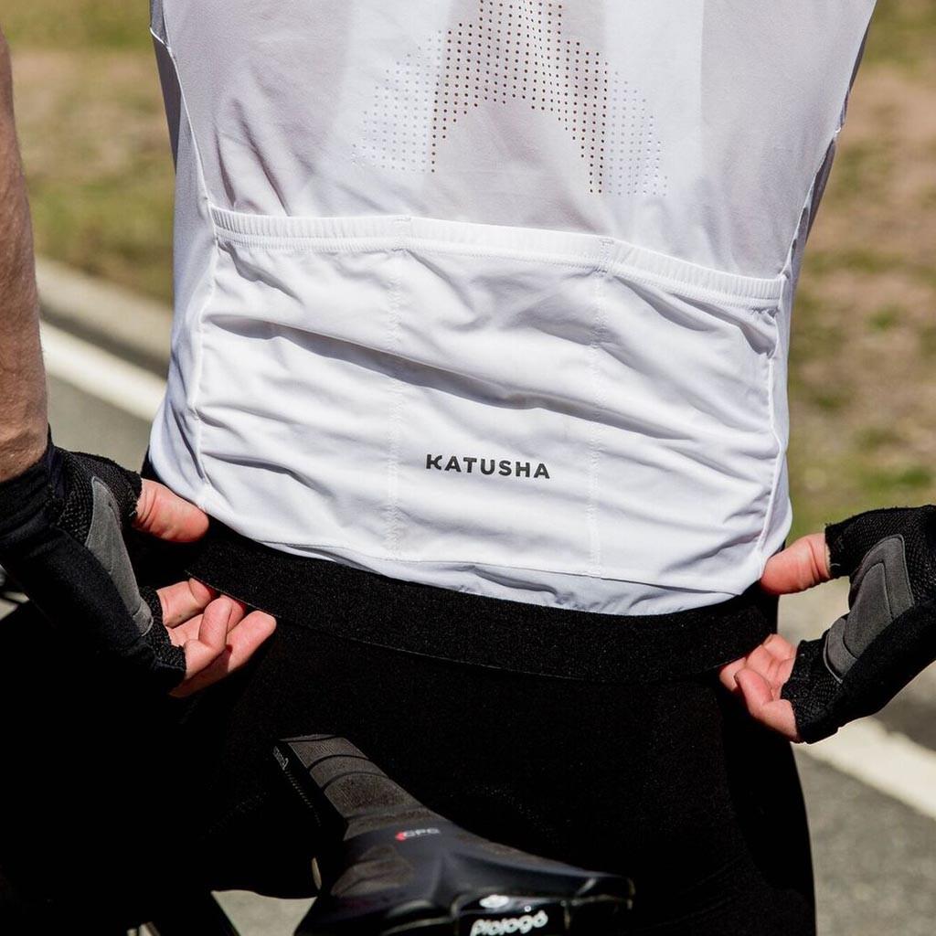 Katusha nano jersey SS white